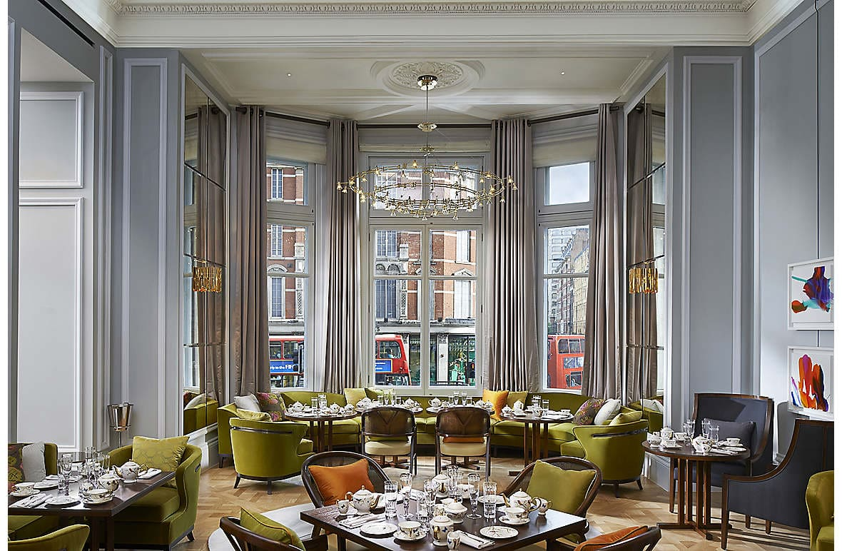 The Rosebery Lounge, looking out to Knightsbridge