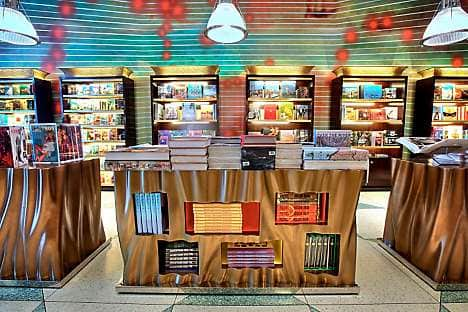 The Taschen bookstore at Lincoln Road car park