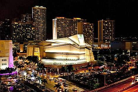 The Adrienne Arsht Center in Miami