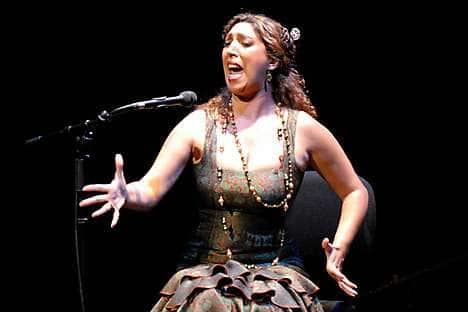 Flamenco singer Esperanza Fernández