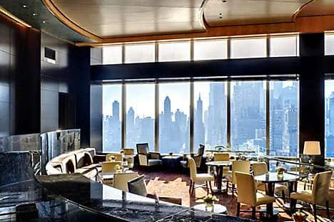 The Lobby Lounge at Mandarin Oriental, New York