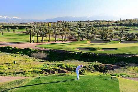 The Assoufid golf course