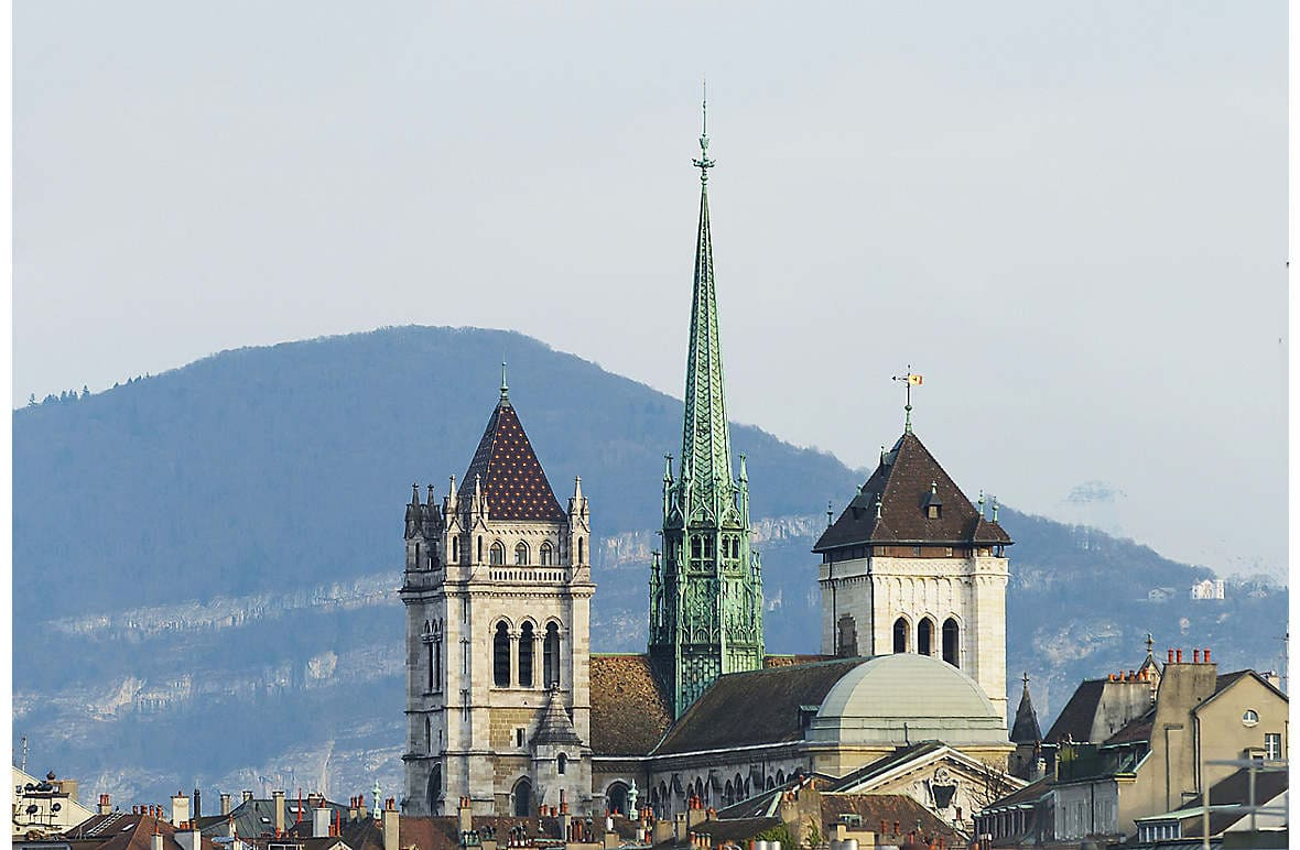 Geneva and the Jura Mountains