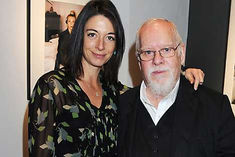 With fan campaign photographer Mary McCartney