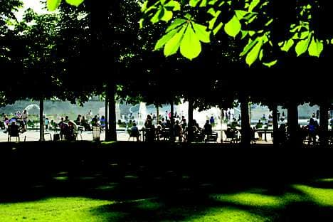 The Tuileries Gardens