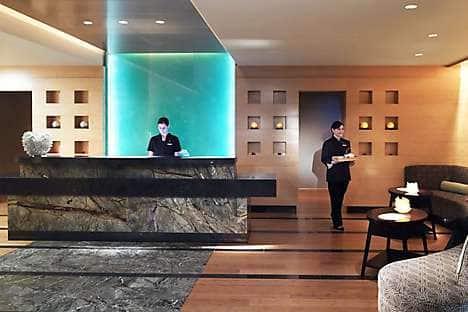 The Spa's lobby