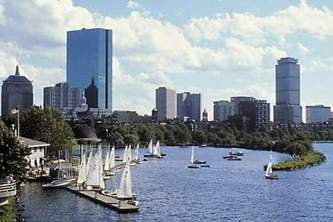 The Charles River, Boston