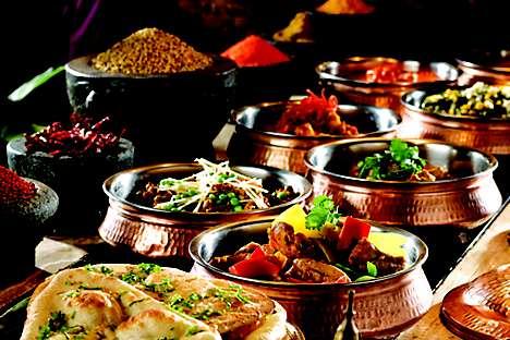 Indian cuisine at Melt Café