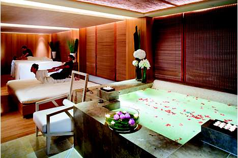 The Sanctuary Suite provides privacy for VIPs and couples