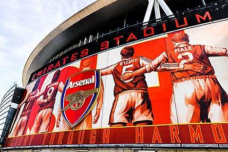 Emirates Stadium, home of Arsenal FC