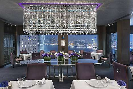 Pierre restaurant at Mandarin Oriental, Hong Kong