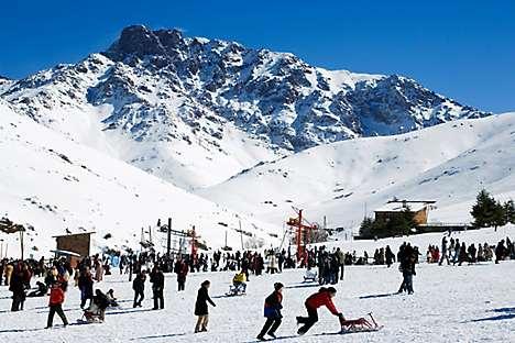 Ski resort Oukaïmeden
