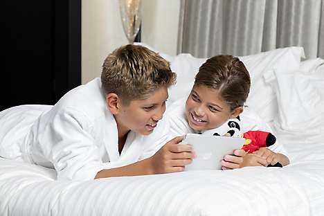 Mandarin Oriental, New York's kids' amenities including MiniMo the Panda