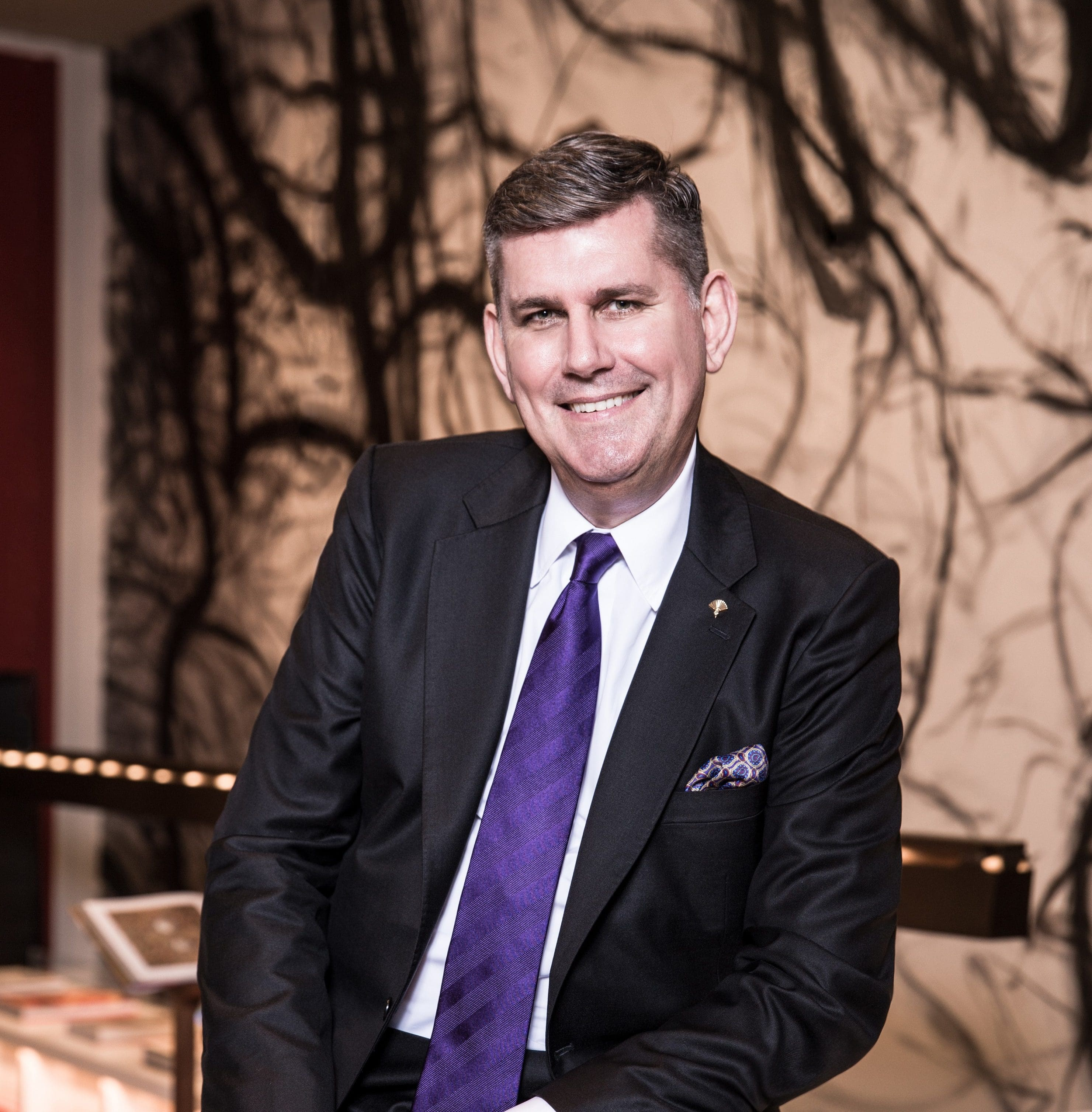 Michael Ziemer, General Manager at Mandarin Oriental, Taipei