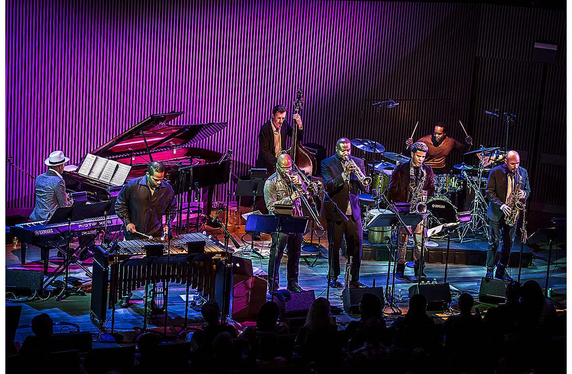 The SFJAZZ Collective, on at the Ferst Center for the Arts