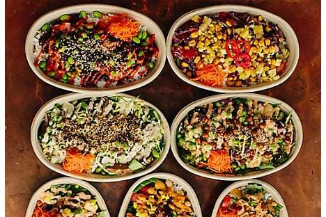 Healthy food from restaurant Whole Heart Provisions