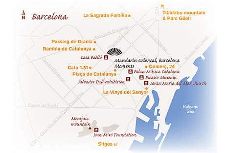 Map of Barcelona