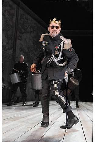 Kevin Spacey as Richard III at The Old Vic theatre