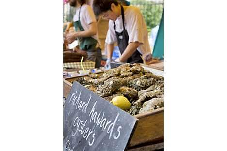 From oysters to venison burgers, Borough Market, south of the city, is the perfect destination for foodies