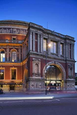 The Royal Albert Hall, a popular venue for opera, ballet and concerts