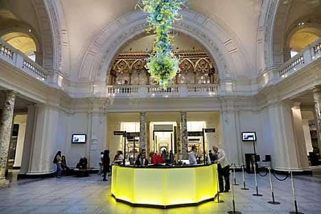 Visit the V&A museum for well-curated art and design exhibitions