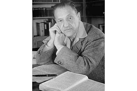 W Somerset Maugham in 1942