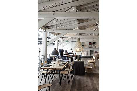 Merci, a three-floor concept store comprising several cafés, homeware and fashion