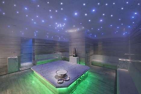 The spa's hammam