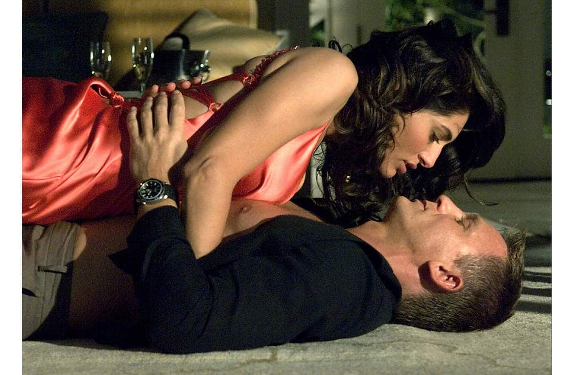 Caterina Murino with Daniel Craig in Casino Royale