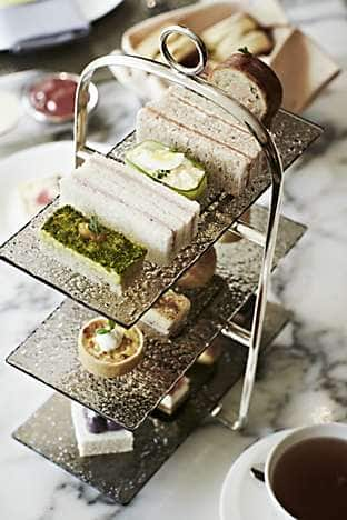 A selection of afternoon tea treats at Café Causette