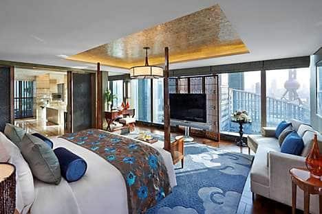The Presidential Suite at Mandarin Oriental Pudong, Shanghai