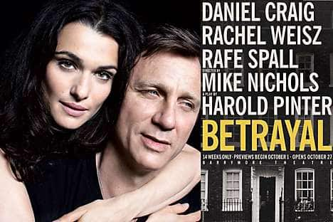 Catch the star-studded Betrayal on Broadway