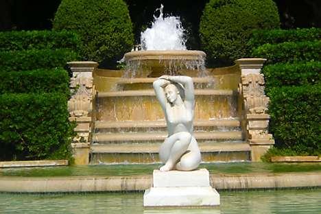 The grounds of the Jardins de Pedralbes
