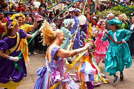 The Covent Garden May Fayre and Puppet Festival