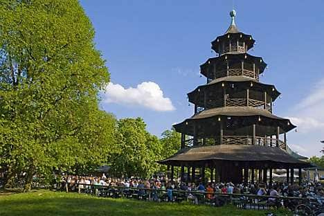 The Chinese Tower in the English Garden