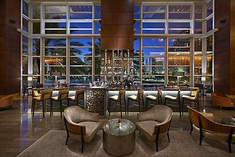The MO Bar + Lounge at Mandarin Oriental, Miami
