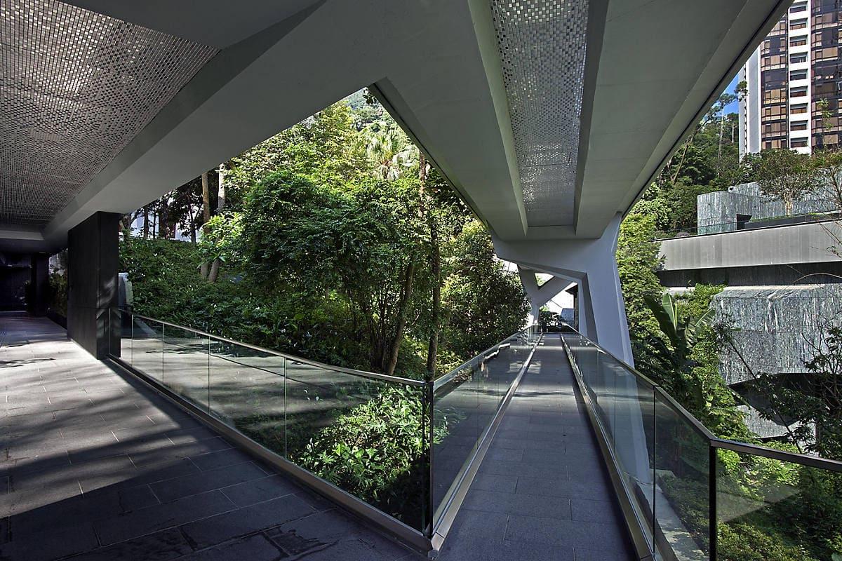 'Fruit Bat Bridge' at the Asia Society Hong Kong Centre