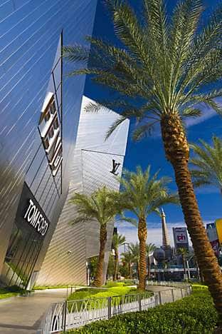 Luxury stores at CityCenter, home of Mandarin Oriental, Las Vegas