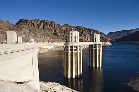 Thirties Engineering masterpiece the Hoover Dam