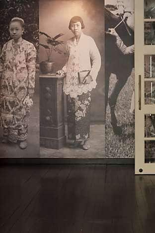 An exhibit at the Peranakan Museum, which explores the culture of a local community