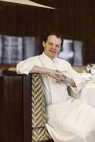 Richard Ekkebus, chef consultant at the hotel's Fifty 8˚ Grill
