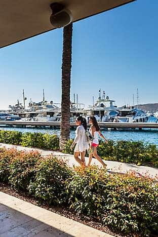 The world-class yacht marina, Palmarina, at nearby Yalıkavak