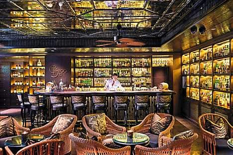 The Bamboo Bar at Mandarin Oriental, Bangkok