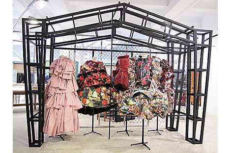 Avant-garde style at Comme des Gargons Dover Street Market