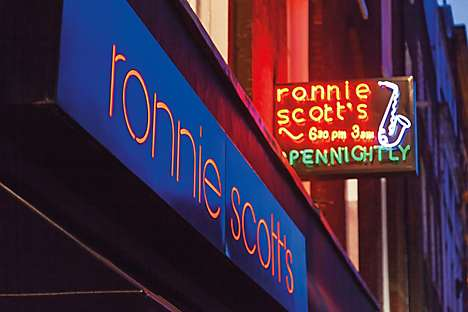 jazz institution Ronnie Scotts