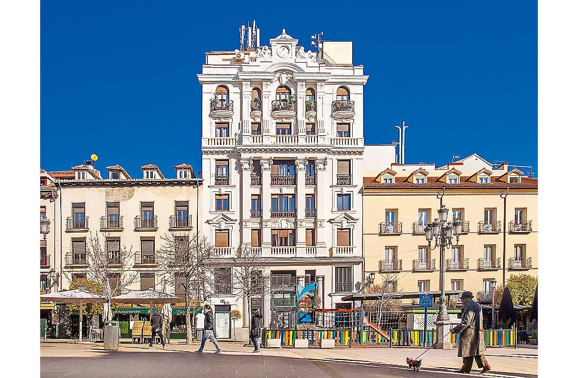 Plaza de Santa Ana in central Madrid