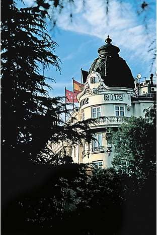 Hotel Ritz, Madrid, where Hemingway once socialised