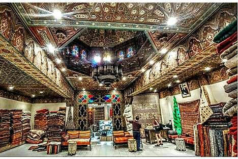 Carpet-seller Aux Merveilles de Marrakech