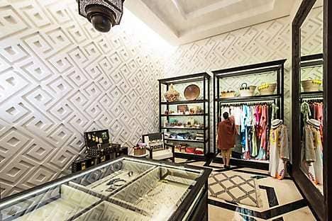 Moroccan craft in Mandarin Oriental, Marrakech's shop