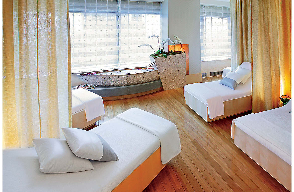 The Relaxation Room at The Spa at Mandarin Oriental, New York